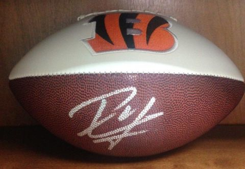Autographed NFL Football-Bid Online, Final Sale at Live Event, Absentee Bidding Available